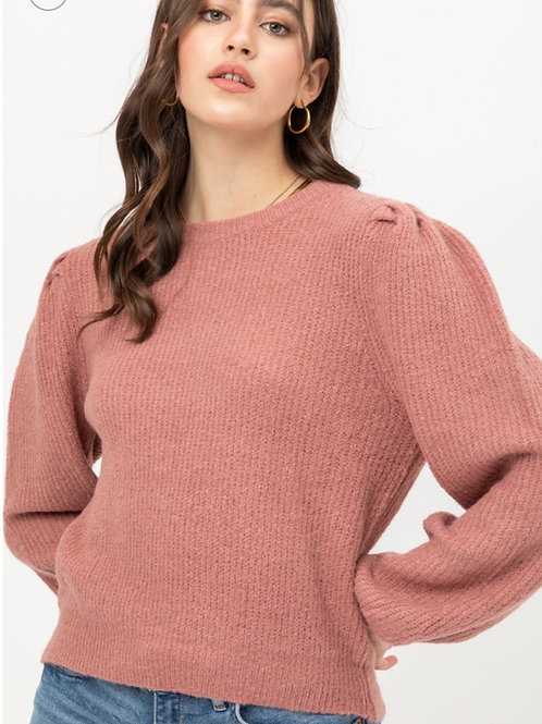 Puff Sweater