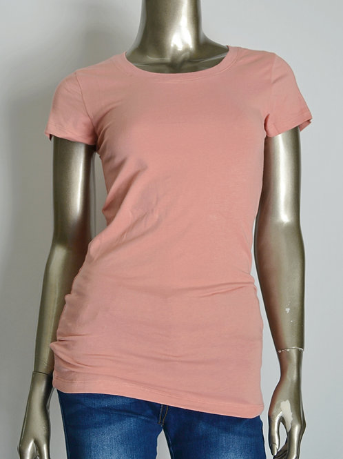Round Neck Shortsleeve Basic T-Shirt
