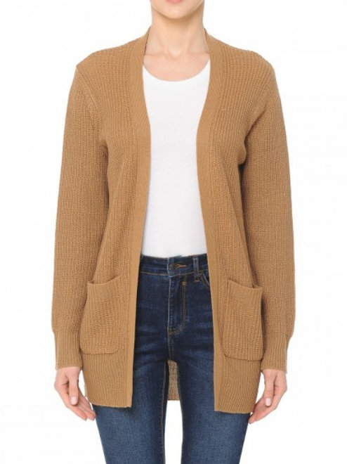 V Neck Sweater Cardigan