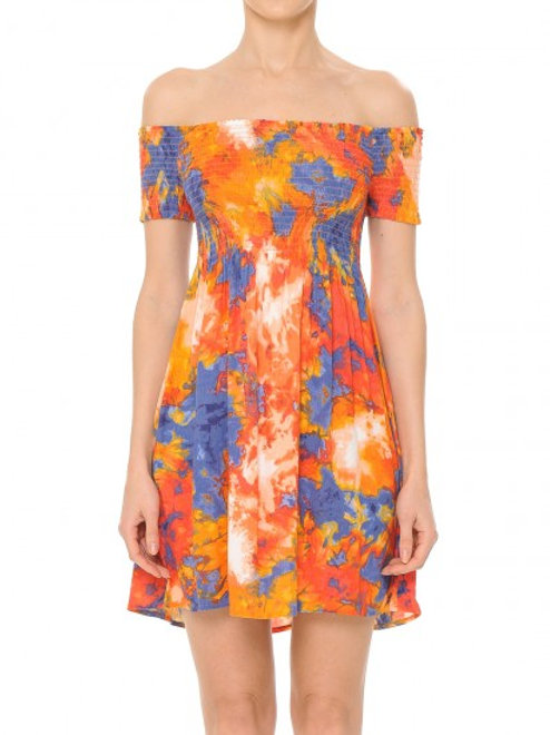 TieDie Smocked Dress