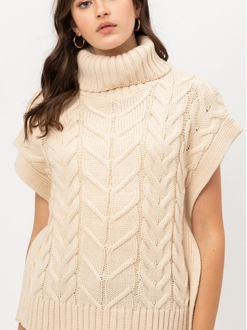 Cropped Sweater Top