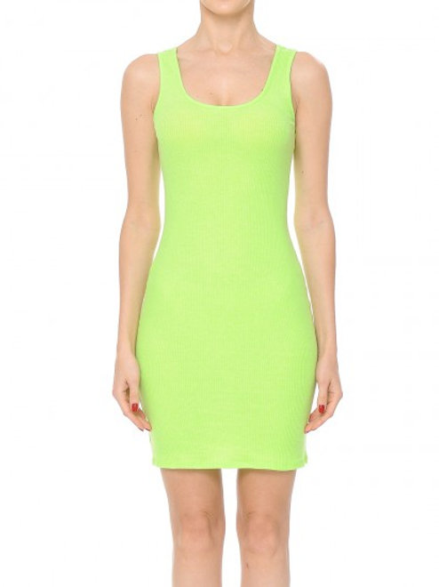 Scoop Neck Mini Dress