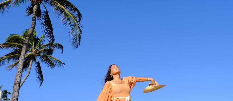 A Morning Walk in Palm Beach