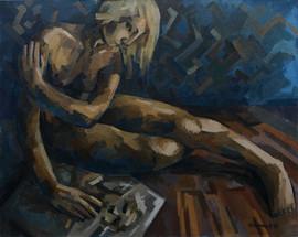 Who am I, Acrylic on Canvas, 80х100cm