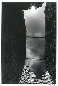 Solstice sun Anasazi ruin