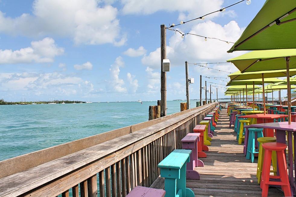 Sunset Pier in Key West