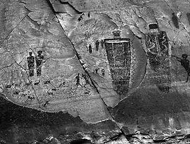 Touching Stone Images: Pictographs   Tim Wong