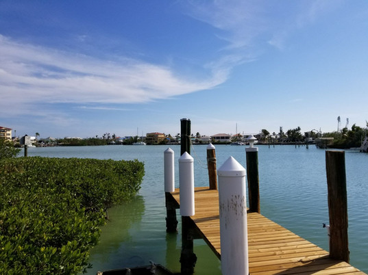 View of Lagoon from Private Dock