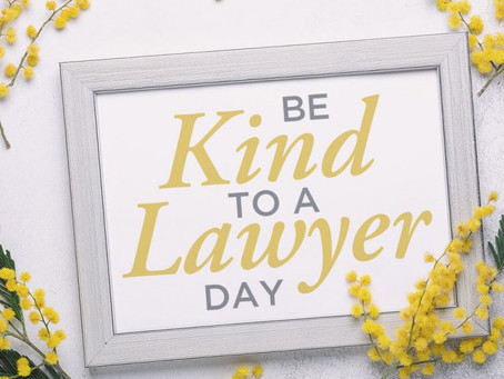 Be Kind to a Lawyer Day 2020