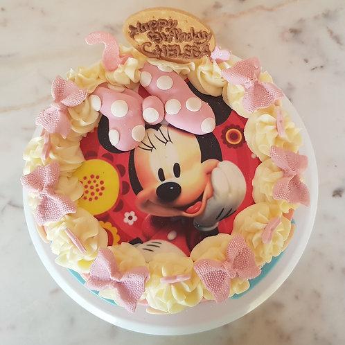 BUTTER CAKE MINNIE 3D