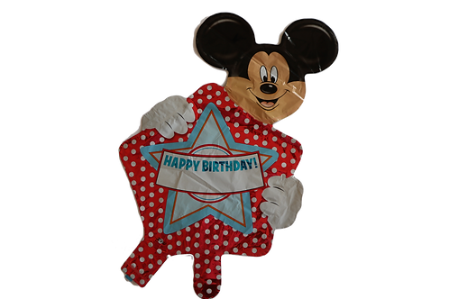 MICKEY OR MINNIE MOUSE BALLOONS