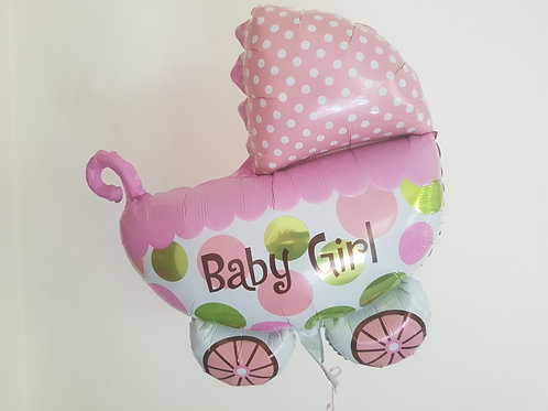 NEWBORN BOY OR GIRL PRAM BALLOON