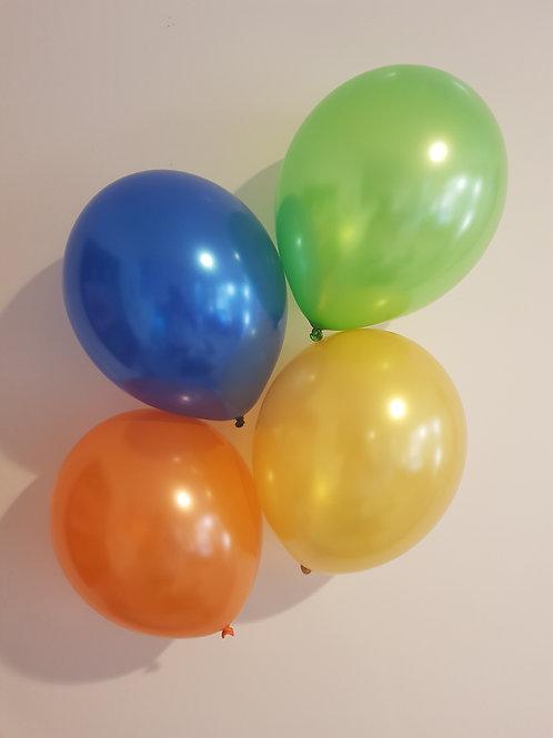 """COLOUR BALLOONS 12"""""""