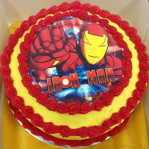 SUPERHERO BUTTER-CAKE MANY HEROES AVAILABLE HERE