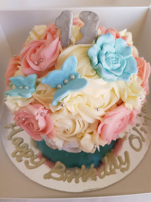 GIANT SPECIAL DAY CUPCAKE