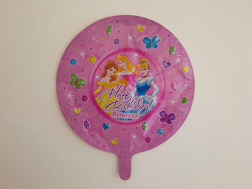PRINCESS HAPPY BIRTHDAY BALLOON