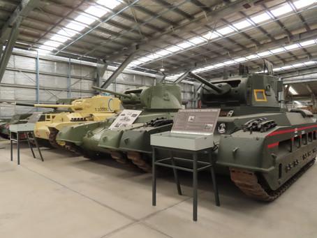 Reviewz Blogz - Wilz rides a tank, let's visit Day 2 of #AusArmourFest 2021