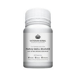 Victorian Herbal I Pain & Swell Reliever I Customized Solution