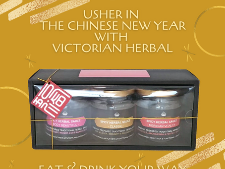 USHER IN THE CHINESE NEW YEAR WITH VICTORIAN HERBAL