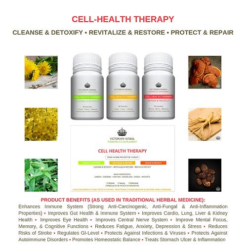 CELL HEALTH THERAPY I REGULAR 3-MONTH THERAPY PACK