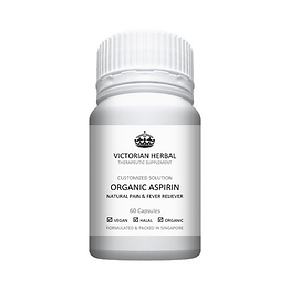 Victorian Herbal I Organic Aspirin I Customized Solution