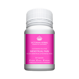 Victorian Herbal I Menstrual Pain I Customized Solution