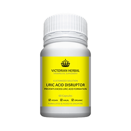 Victorian Herbal I Uric Acid Disruptor I Customized Solution