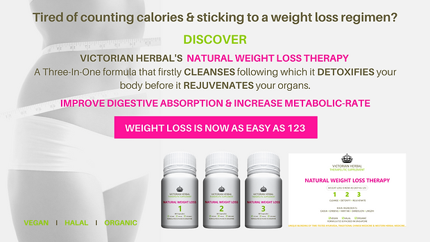 Victorian Herbal Natural Weight Loss Therapy