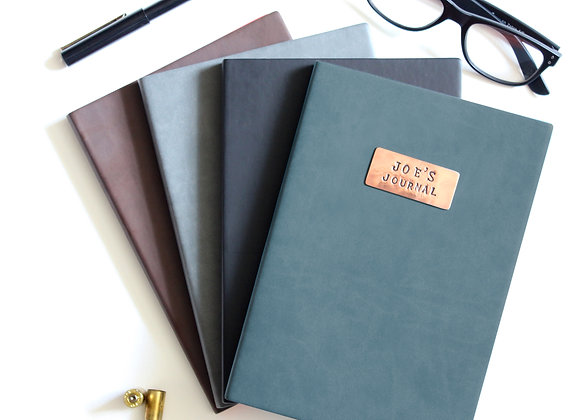 COPPER & LEATHER A5 JOURNAL