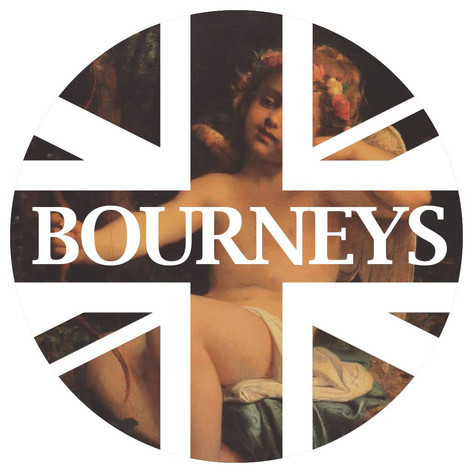 2013 Bourneys Valentine's Day Logo