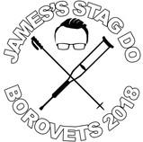 James's stag do T-shirt design
