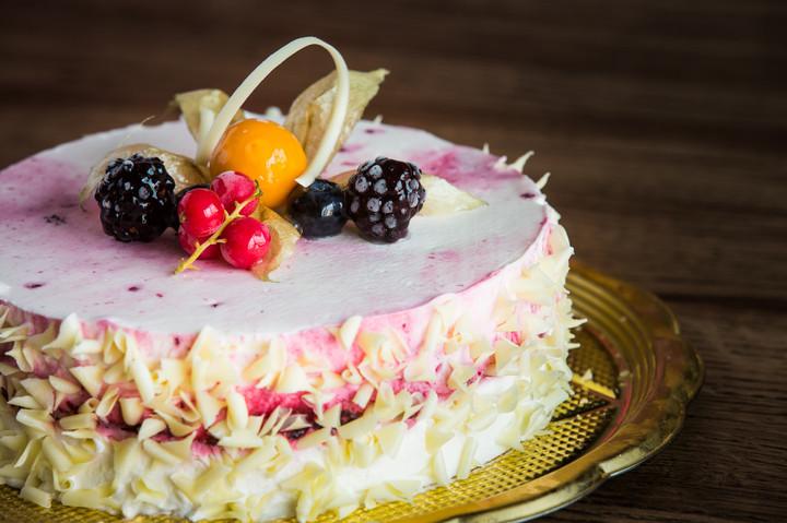 Semifreddo allo yougurt ai Frutti di Bosco