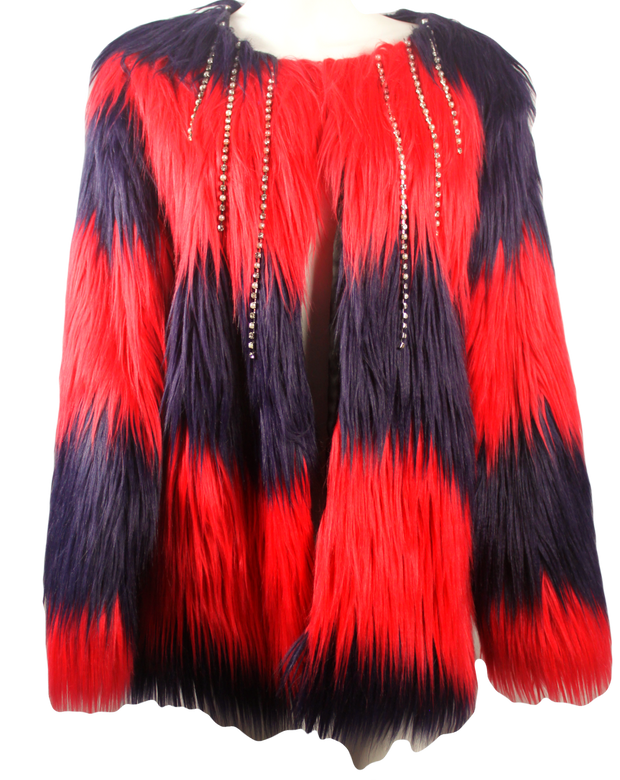 red-and-black-fur-jacket