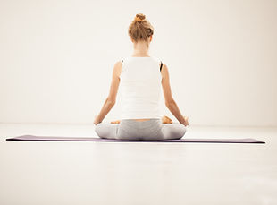 Lotus-Haltung