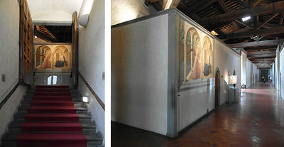 Convent San Marco Florence Fra Angelico Annunciation