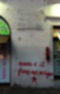Political graffiti, Rome