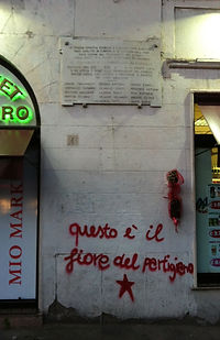 Political graffiti, Rome