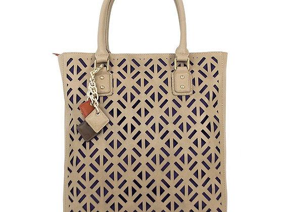 Luminous Leather Bag - Tan