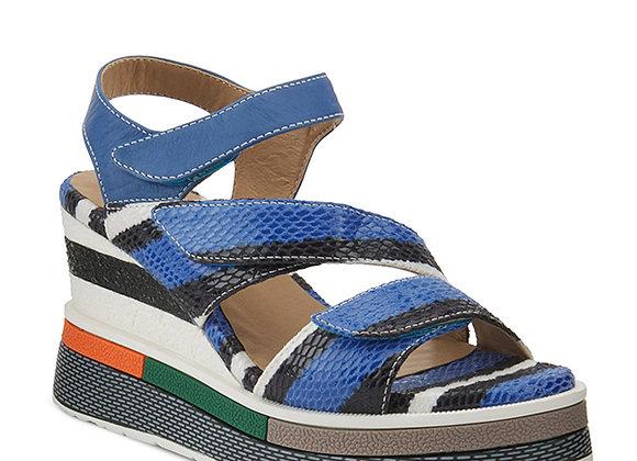 L'Artiste Akokomo Blue Sandal