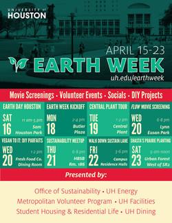 Earth Week Flier
