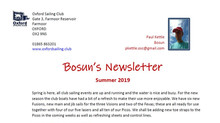 Newsletter from the OSC Bosun