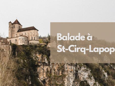 Balade à Saint-Cirq-Lapopie sur le chemin de Halage
