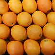 Fresh oranges Navel and Valencias