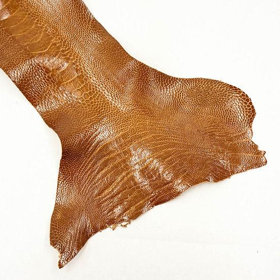 Страус OSTRICH LEG - COGNAC