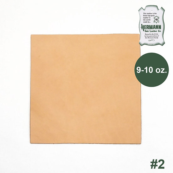 "Пластина HERMANN OAK #2 PRE-CUT 9-10 OZ. 12"" X 12"""