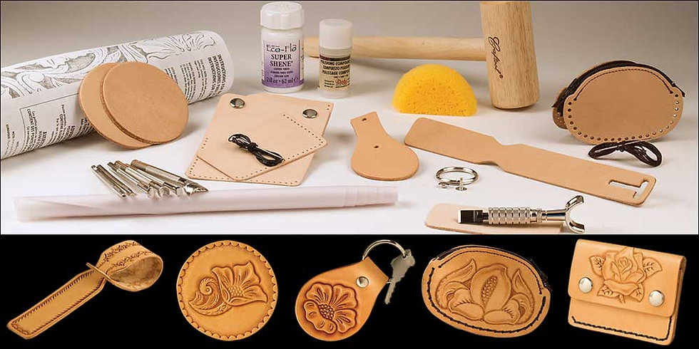Набор Basic Carving Leathercraft Set #55401-00