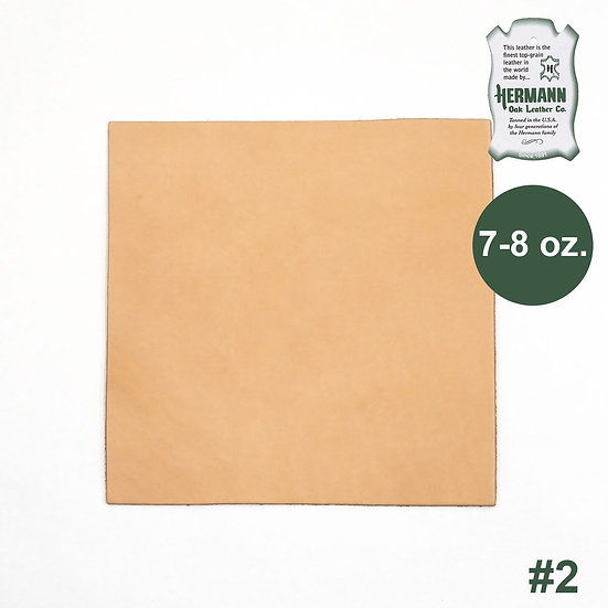"Пластина HERMANN OAK #2 PRE-CUT 7-8 OZ. 12"" X 12"""
