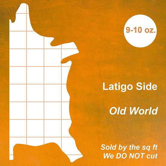 Кожа Латиго SIDE,LATIGO,OLDWORLD,9-10OZ