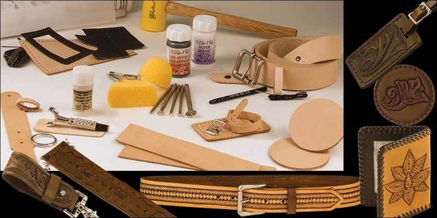 Набор Deluxe Carving Leathercraft Set