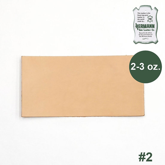 "Пластина HERMANN OAK #2 PRE-CUT 2-3 OZ. 6"" X 12"""